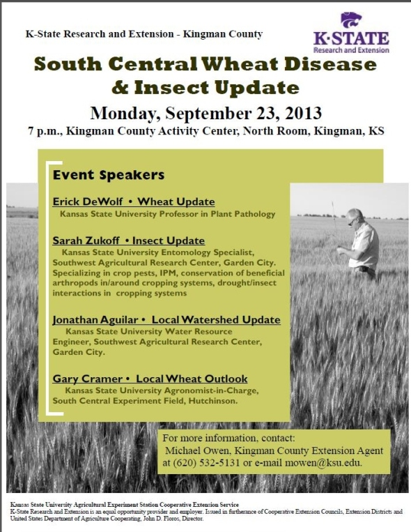 South Central Wheat Disease & Insect Update